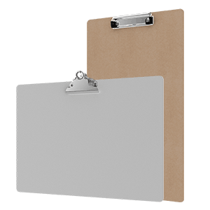 Ledger Size Clipboards