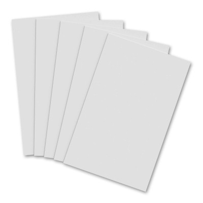 5 Pack - Vertical 11 x 17 MDF Clipboard Notepad - Blank