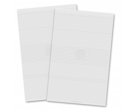 2 Pack - Vertical 11 x 17 MDF Clipboard Notepad