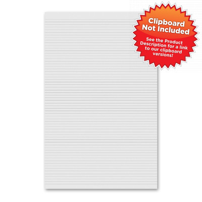 Vertical 11 x 17 MDF Clipboard Notepad