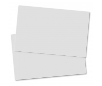 2 Pack - Horizontal 17 x 11 MDF Clipboard Notepad - Blank