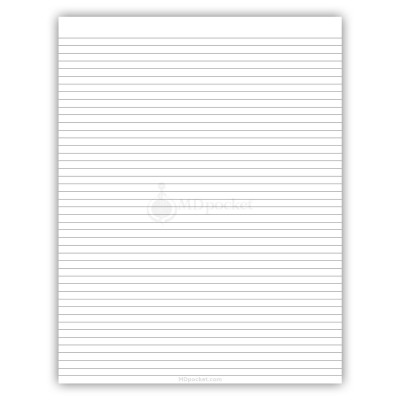 14 X 8.5 Notepad