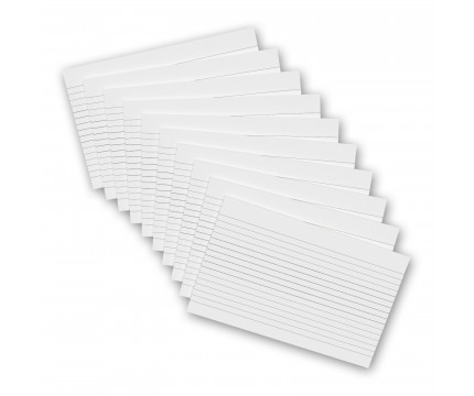 10 Pack - 8 x 5 Notepads - Ruled