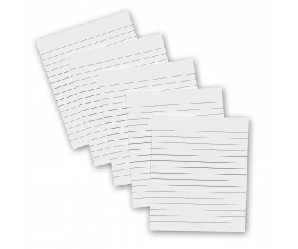 5 Pack - Memo ISO Clipboard Notepads