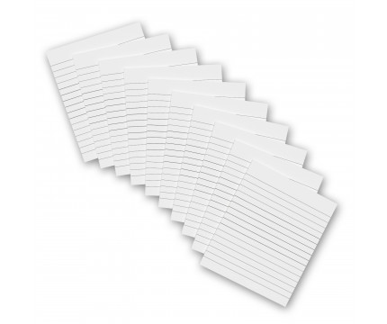 10 Pack - 5 x 3.75 Notepads