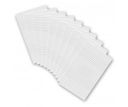 10 Pack - 5 x 8 Notepads