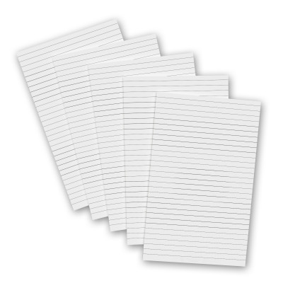 5 Pack - 5 x 8 Notepads