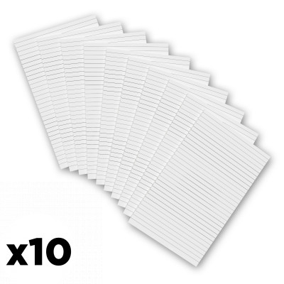 10 Pack - 5 x 7.25 Notepads