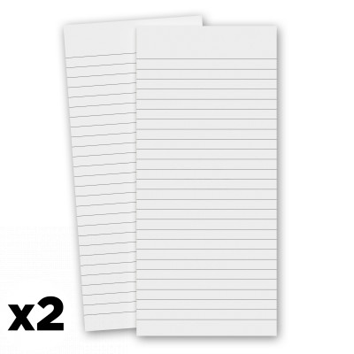 2 Pack - 3.75 x 8.25 Notepad