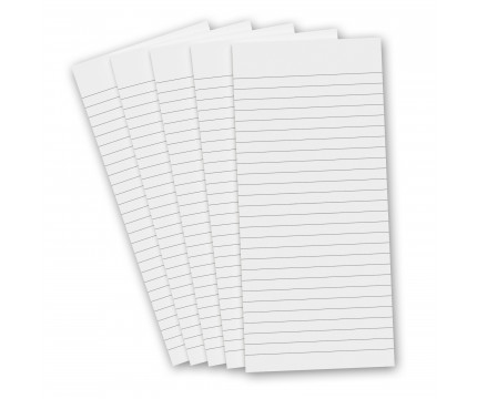 5 Pack - 3.75 x 8.25 Notepad