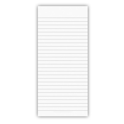 3.75 x 8.25 Notepad