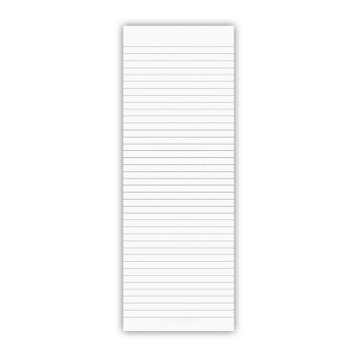 3.5 x 10.25 Notepad