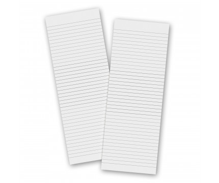 2 Pack - 3.5 x 10.25 Notepad