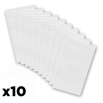 10 Pack - 5 x 8.75 Notepads