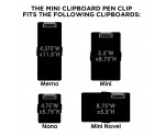 Mini Clipboard Pen Clip