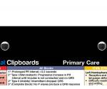 WhiteCoat Clipboard - Black - Primary Care Edition