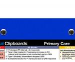 WhiteCoat Clipboard - Blue - Primary Care Edition