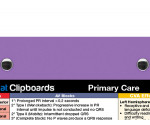 WhiteCoat Clipboard - Lilac - Primary Care Edition