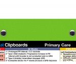 WhiteCoat Clipboard - Lime Green - Primary Care Edition