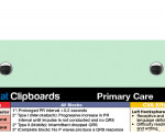 WhiteCoat Clipboard - Mint - Primary Care Edition