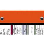 WhiteCoat Clipboard - ORANGE - Medical Edition