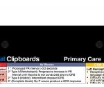 WhiteCoat Clipboard - Blackout - Primary Care Edition - Slightly Damaged