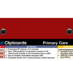 WhiteCoat Clipboard - Red - Primary Care Edition