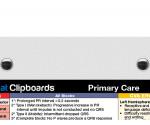 WhiteCoat Clipboard - White - Primary Care Edition