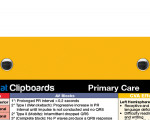 WhiteCoat Clipboard - Yellow - Primary Care Edition
