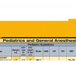 WhiteCoat Clipboard - Vertical - Yellow - Anesthesia Edition