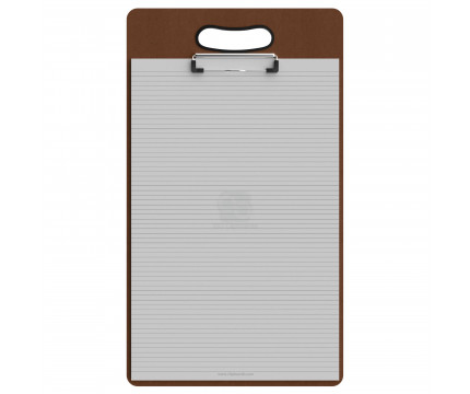 Ledger Size Vertical HDF Handle Clipboard