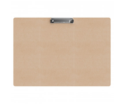 19 x 13 MDF Clipboard - Slightly Damaged