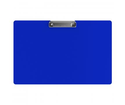 Aluminum 17 x11 Ledger Clipboard - Blue