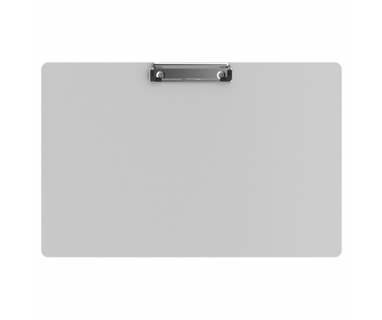 Aluminum 17 x11 Ledger Clipboard - White