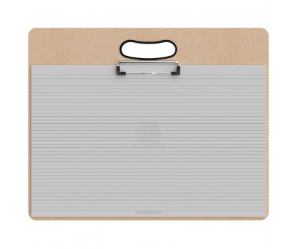 Ledger Size Horizontal MDF Handle Clipboard