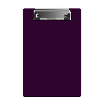 "Acrylic Memo Sized 6"" x 9"" Clipboard - Purple"