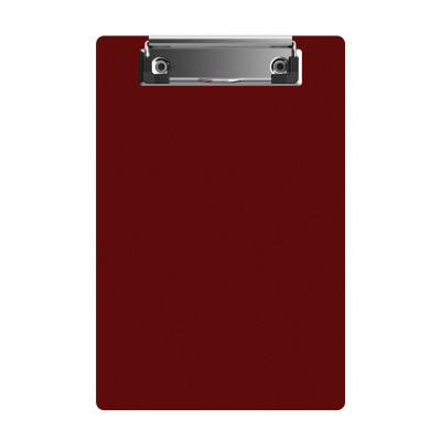 "Acrylic Memo Sized 6"" x 9"" Clipboard - Red"