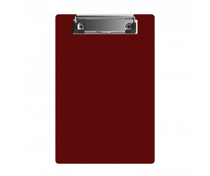"""Acrylic Memo Sized 6"""" x 9"""" Clipboard - Red"""