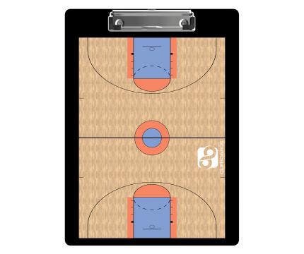 Flat Plastic Basketball Clipboard