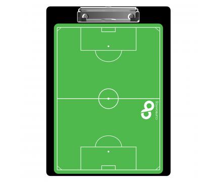 Flat Aluminum Soccer Clipboard