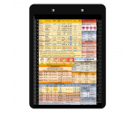 Flat Plastic Anesthesia Clipboard