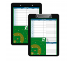 Flat Plastic Baseball Clipboard