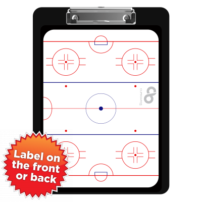 Flat Plastic Hockey Clipboard