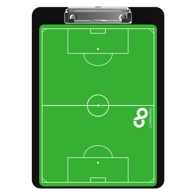 Flat Plastic Soccer Clipboard