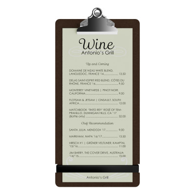 HDF Tall Menu Clipboard