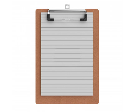 Maple Memo Size 5 x 8 MDF Clipboard