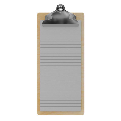 Birch Server Butterfly Clipboard