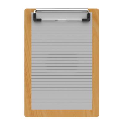 "Maple Memo Sized 5"" x 8"" Clipboard"