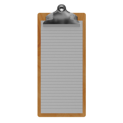 Maple Server Butterfly Clipboard