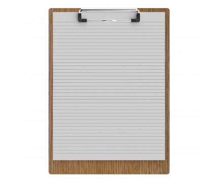 """Red Oak Letter Sized 8.5"""" x 11"""" Clipboard"""